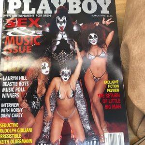 Playboy Magazine March 1999